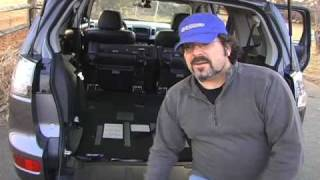Mitsubishi Outlander XLS Cargo & 3rd Row Seat