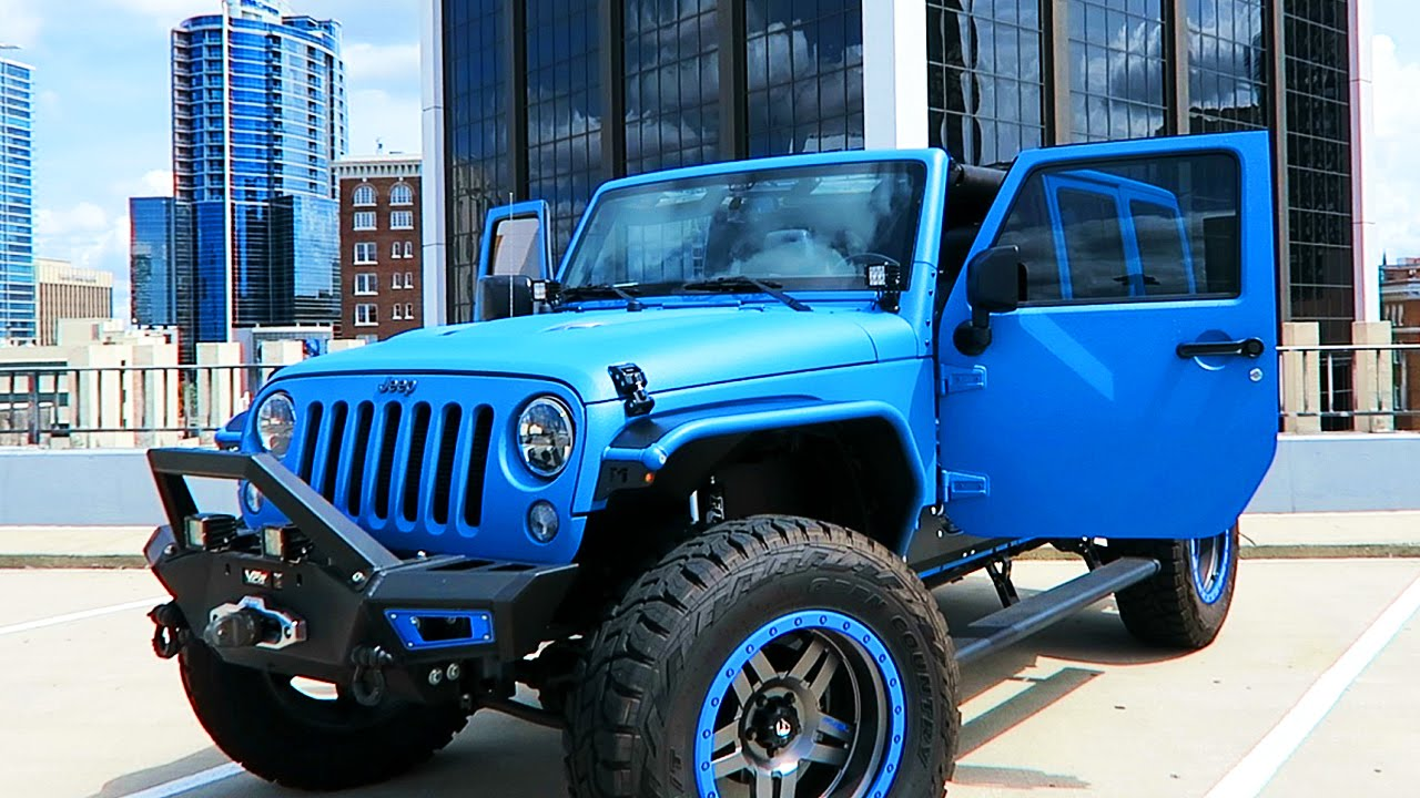 My Dream Jeep New Car Youtube