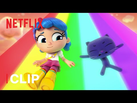 Over the Rainbow 🌈 True Rainbow Rescue | Netflix Jr