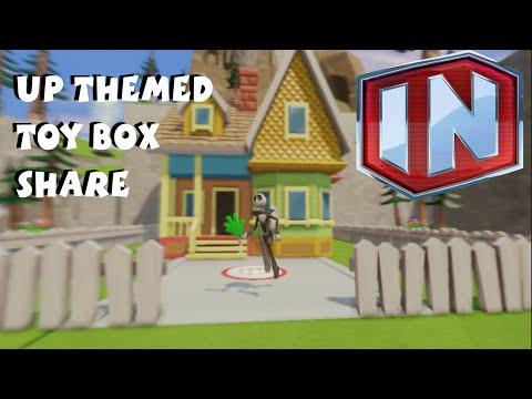 Disney Infinity Toy Box Share - Beyond The Falls / Up - Jack Skellington