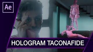 "HOLOGRAM z TACONAFIDE - ""Tamagotchi"" ▪ Tutorial ▪ #40 AE After Effects"