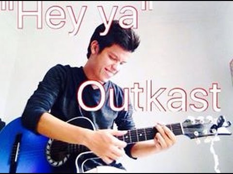Hey Ya Outkast Tutorial En Guitarra Youtube