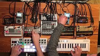 Volca Ambient & Techno Jam (2018-01-19 Part I)