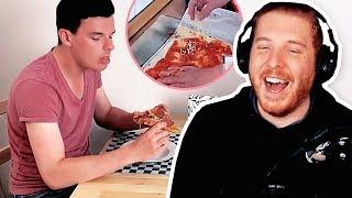 Unge REAGIERT auf Pizza backen mit Tourette! | #ungeklickt