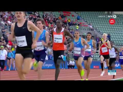Jakob Ingebrigtsen Dream Mile New World Junior Rekord Oslo Diamond League