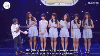Download Video GFRIEND's Pick of their Type of a Girl MP3 3GP MP4