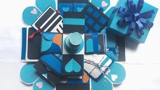 Ý tưởng Love box 10x10cm - [NGOC VANG]