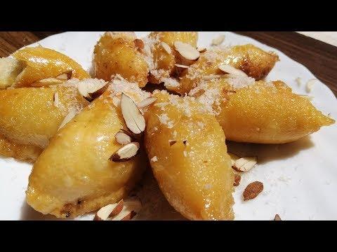 Mawa Gujiya Dipped in Sugar Syrup-Gujiya Recipe Prepared By desihomemade