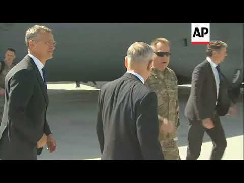 Defense Secretary Mattis Arrives Qatar
