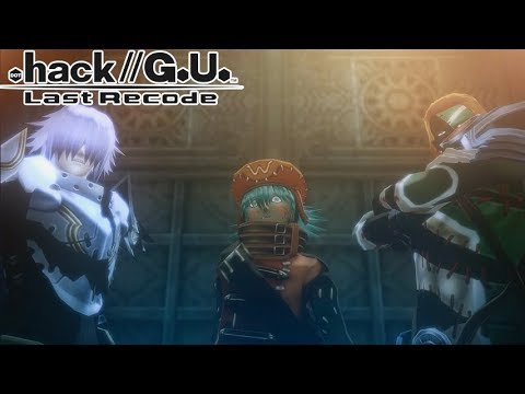 .hack//G.U. Last Recode - Vol.3 Redemption Part 13: Boss: The Azure Knight Trio / Meeting Aura