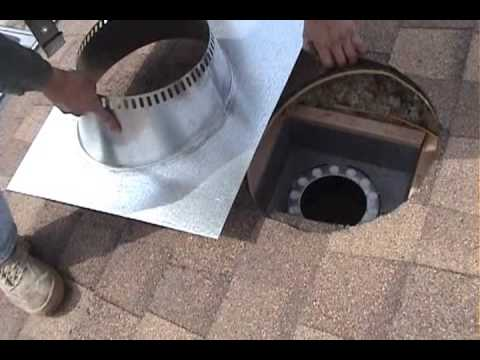 WOOD STOVE INSTALLATION START TO FIRE - WOOD STOVE INSTALLATION START TO FIRE - YouTube