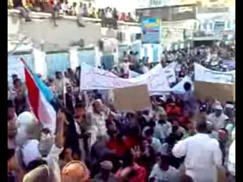 Revolution of South Yemen .. Hadramout  27/ 04/ 2009 .. Peaceful Protests