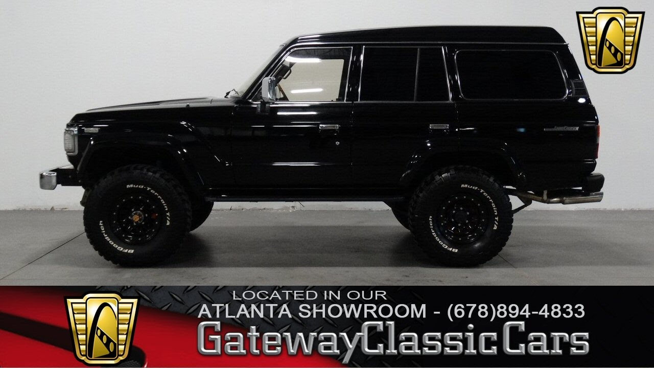 1987 Toyota Land Cruiser   Gateway Classic Cars Of Atlanta #204