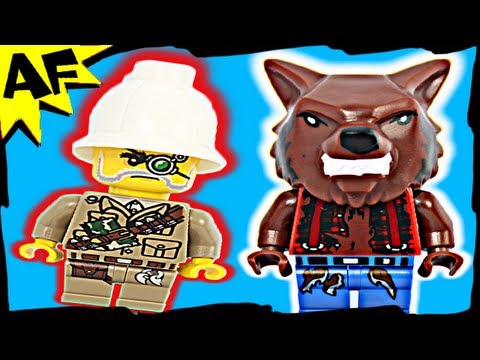 WEREWOLF Lego Monster Fighters Set 9463 Animated Building Review