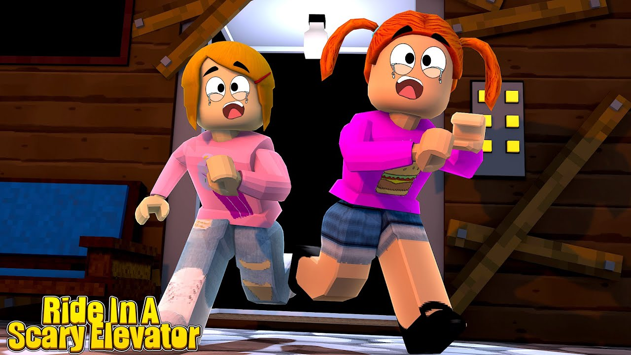 Roblox Scary Elevator With Molly And Daisy Youtube