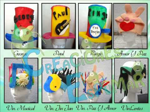 catalogo de sombreros para fiestas