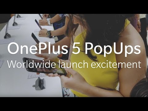 Thumbnail: OnePlus 5 - Worldwide launch excitement