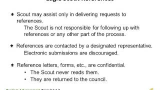 The Eagle Scout Application Process