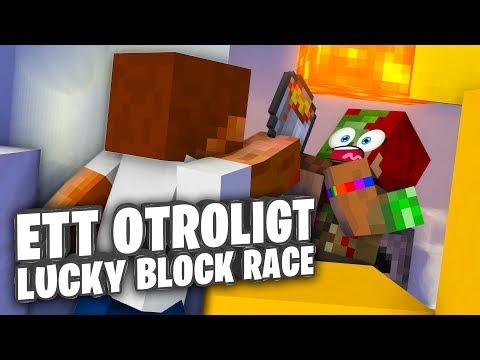 Ett otroligt Lucky Block Race