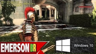 Ryse: Son of Rome na GTX 780 Ti [Windows 10]