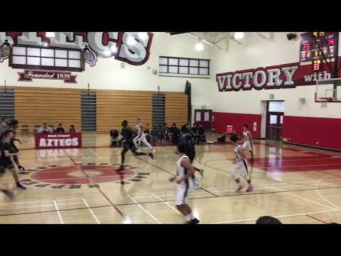 Ryan Lin MKHS vs San Gabriel Academy 12.11.18