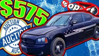 $575 Dodge Charger Police Car. 24hr Flip
