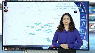 Air quality recorded in 'good' category over Delhi NCR  | Skymet weather