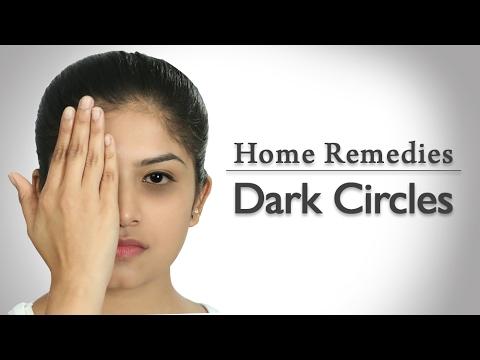 How To Remove Dark Circles Naturally At Home In Hindi
