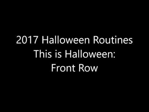 This is Halloween Front Row