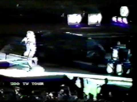U2 ZOO Tv Madrid - 1993-05-22 - Part  1
