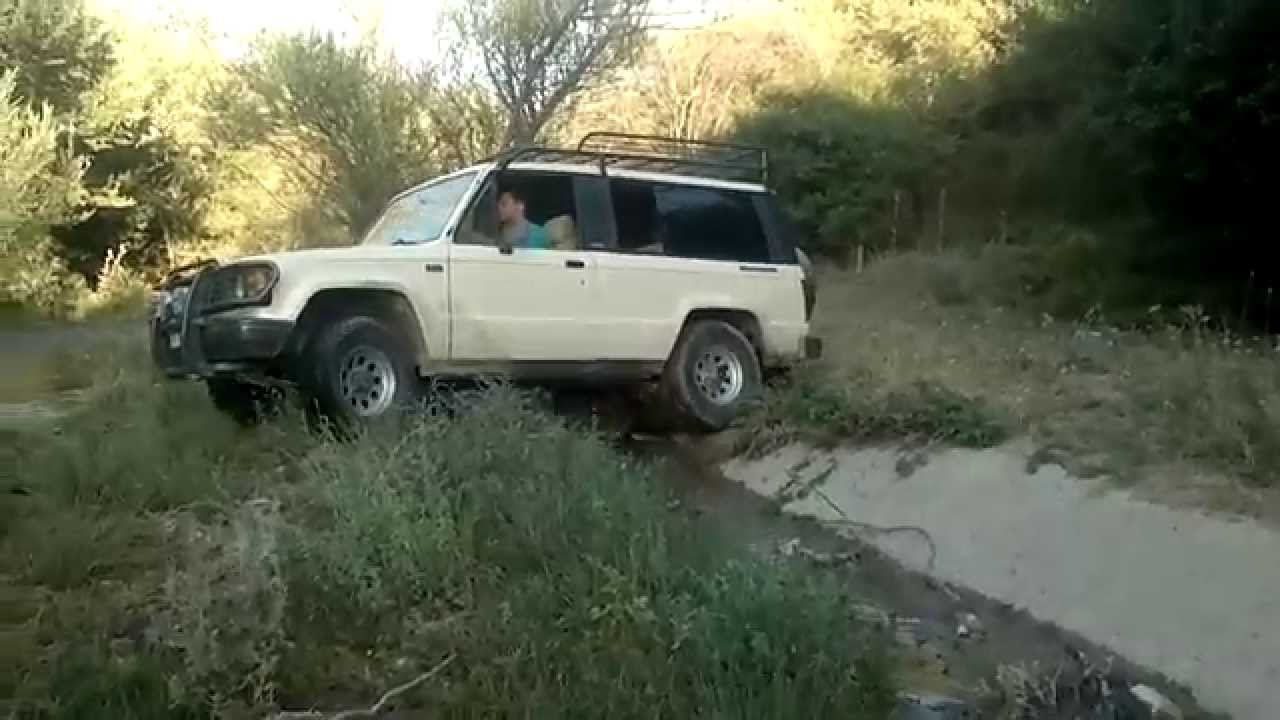 4x4 isuzu trooper off road - youtube