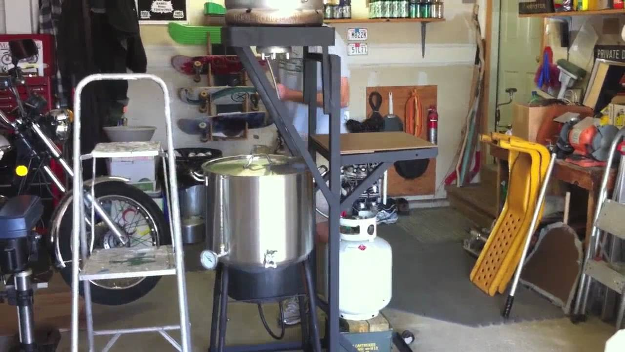 Best Kitchen Gallery: Diy All Grain Brewing Youtube of My Homebrew Setup on rachelxblog.com