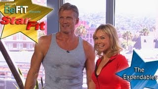 The Expendables Workout with Dolph Lundgren - Star Fit