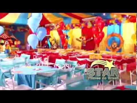 Festa infantil - Decoração tema Circo