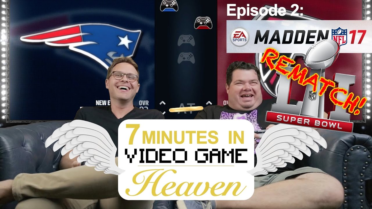 7 MINUTES IN HEAVEN - 02 - Super Bowl REMATCH!