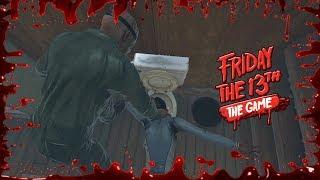 Cada vez más violento y difícil | Friday the 13th: THE GAME - DESAFÍO 7