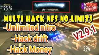 NFS NO LIMITS MULTI HACK V2.9.1