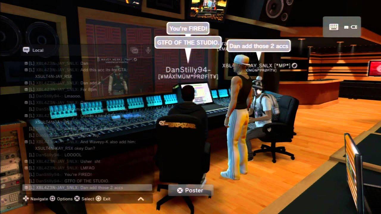 Messing around in Def Jam Studio - PSHome - YouTube