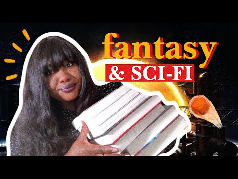 FANTASY AND SCIENCE FICTION BOOKS to read in 2021!