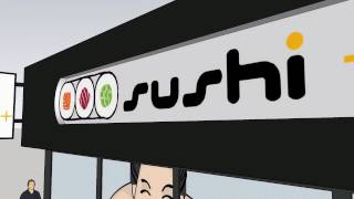 Sushi Plus Store Front -First Drawing 17 02 21