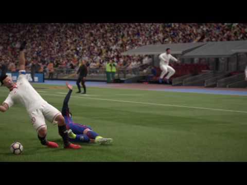 FIFA 17 Gameplay | Barcelona vs Sevilla | PS4 | La Liga | 25 Minutes Match