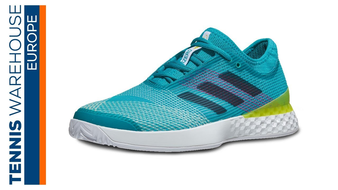 new product 1fc3d b3724 TWE adidas Adizero Ubersonic 3 Mens Tennis Shoe Review (on Clay!)