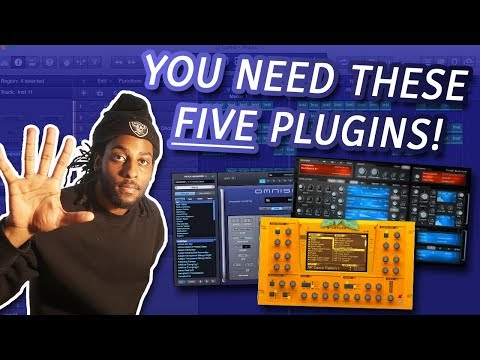 TOP 5 VSTS YOU NEED TO MAKE BETTER BEATS IN 2018 | Best Plugns for Logic Pro X