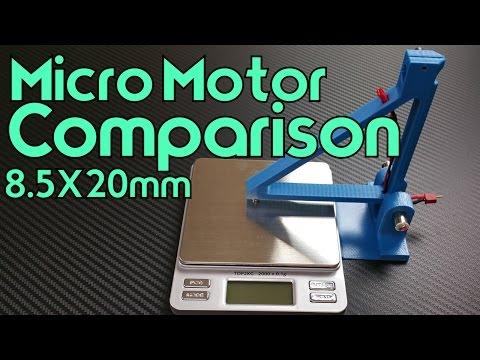 Micro Motor Comparison
