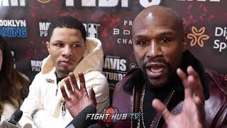 FLOYD MAYWEATHER AND TANK DAVIS SPEAK ON FIGHTING LOMACHENKO AND BIG KO WIN OVER RUIZ