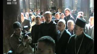 The opening of Advent in Bethlehem