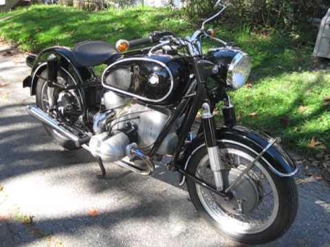 bmw motorcycle 1964 r69s in maine - youtube