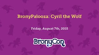 BronyPalooza: Cyril the Wolf