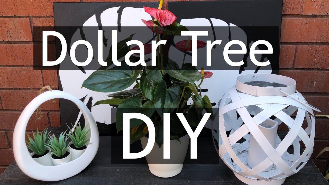 EASY DOLLAR TREE DIY ~ LEAF PAINTING