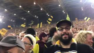 BVB Borussia Dortmund - Eintracht Frankfurt 3:1 Highlights Südtribüne 15.09.18 ink Pyro